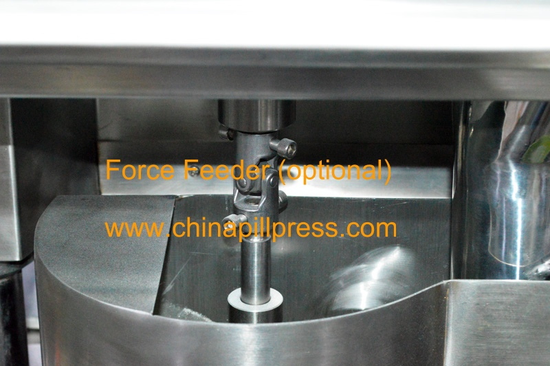 Force feeder of ZP35D Rotary Tablet Press